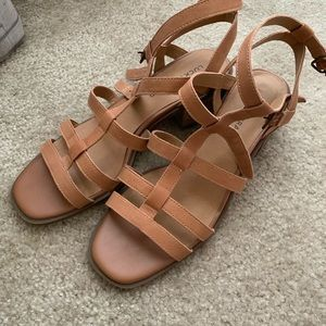 Lucky Brand Paytun Gladiator Heeled Sandals